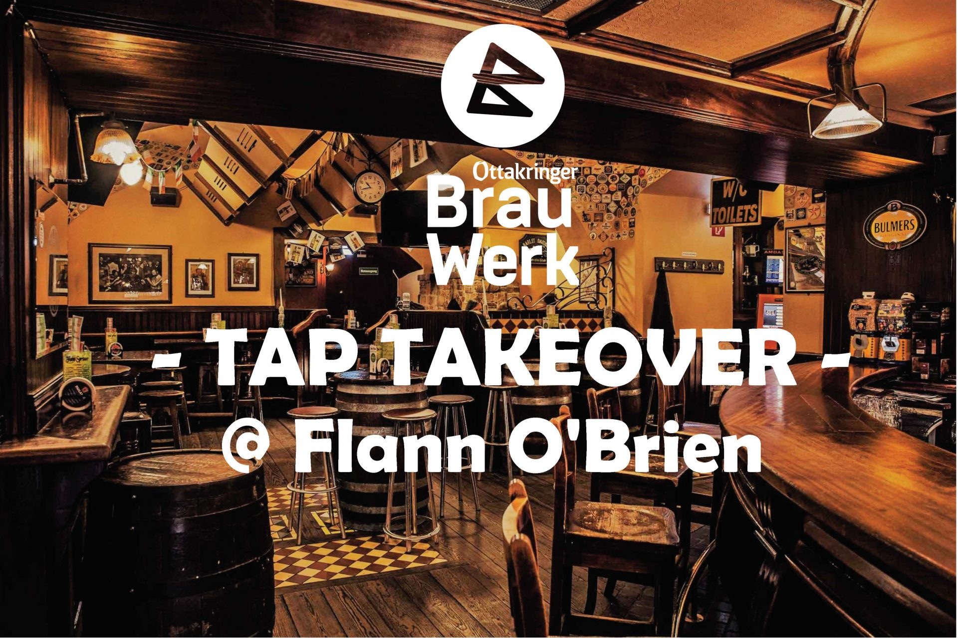 TAP TAKEOVER @ Flann O'Brien