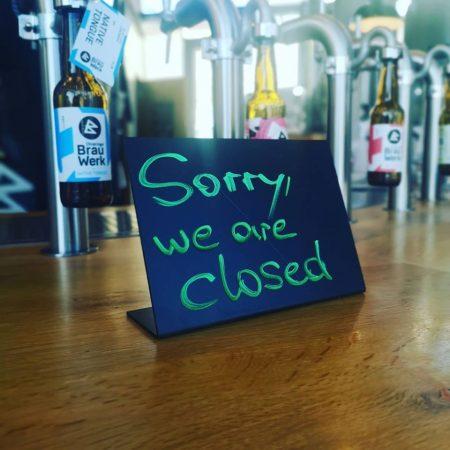 Leider geschlossen!